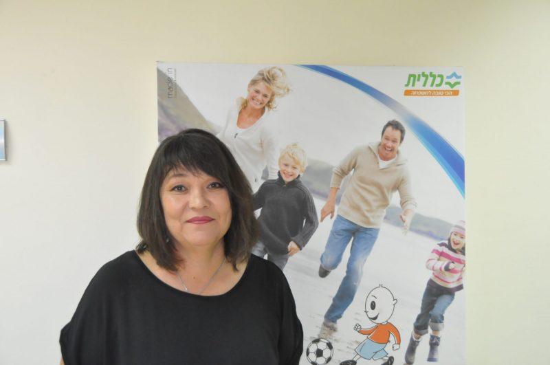 """ד""""ר טטיאנה ז'לוז'ין (צילום: צביקה מינקוביץ, דוברות שירותי בריאות כללית)"""