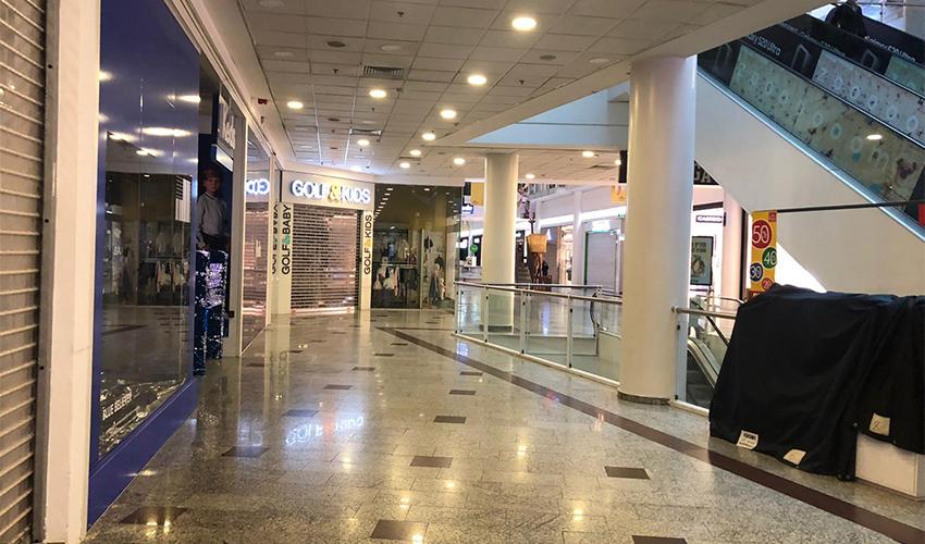 קניון עזריאלי חיפה סגור (צילום: סיון אברהם)