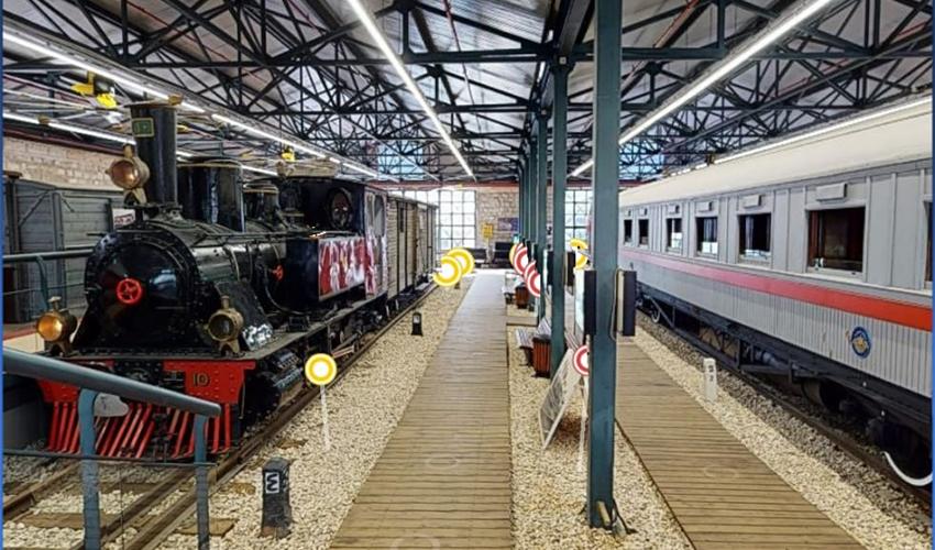 מוזיאון רכבת ישראל (צילום: דוברות רכבת ישראל)