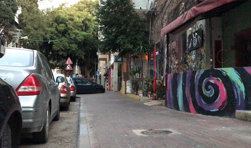 רחוב מסדה בימי קורונה