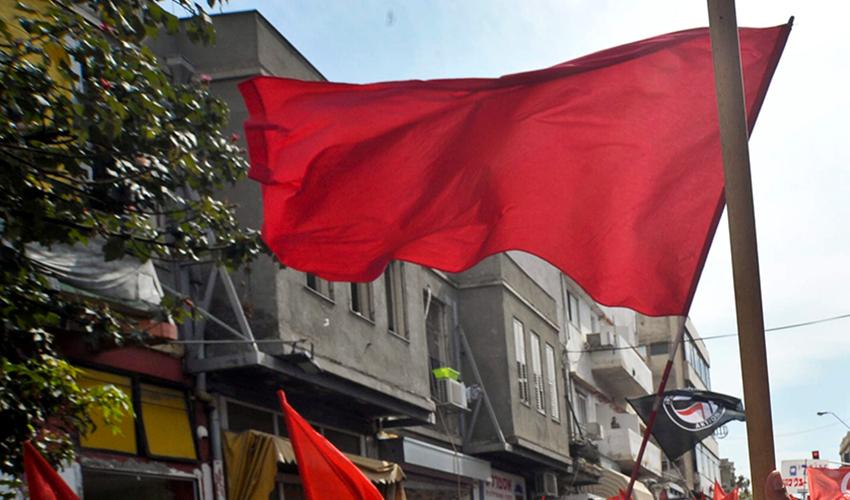 דגלים אדומים (צילום: ניר כפרי)