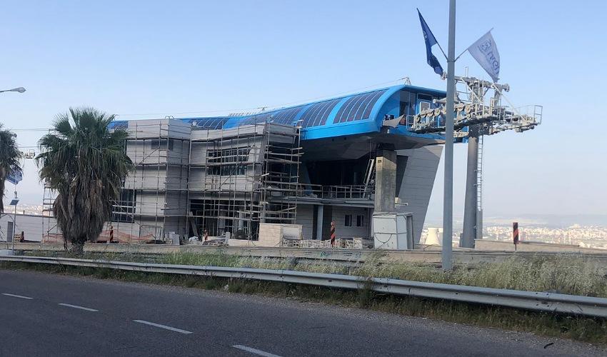תחנת כביש דורי של הרכבלית (צילום: סיון אברהם)