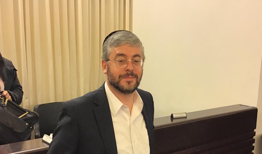 הרב מנחם קפלן (צילום: בועז כהן)