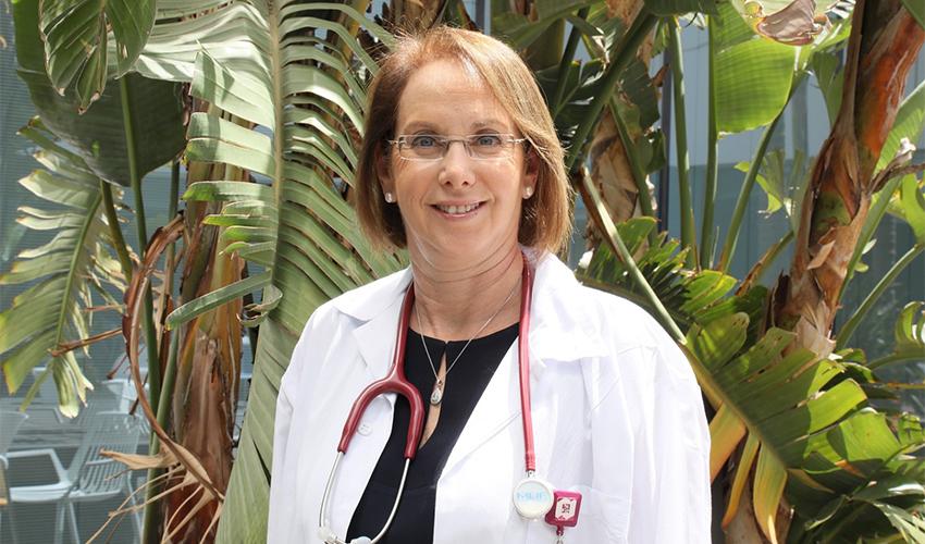 """ד""""ר שפרה אש (צילום: דוברות הקריה הרפואית רמב""""ם)"""