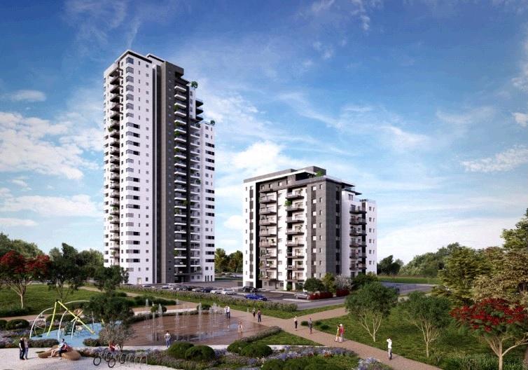 הלהיט החם הבא: דירות שלושה וארבעה חדרים בפרויקט פארק סלקטד. קרדיט הדמיה: סטודיו AVA STUDIO