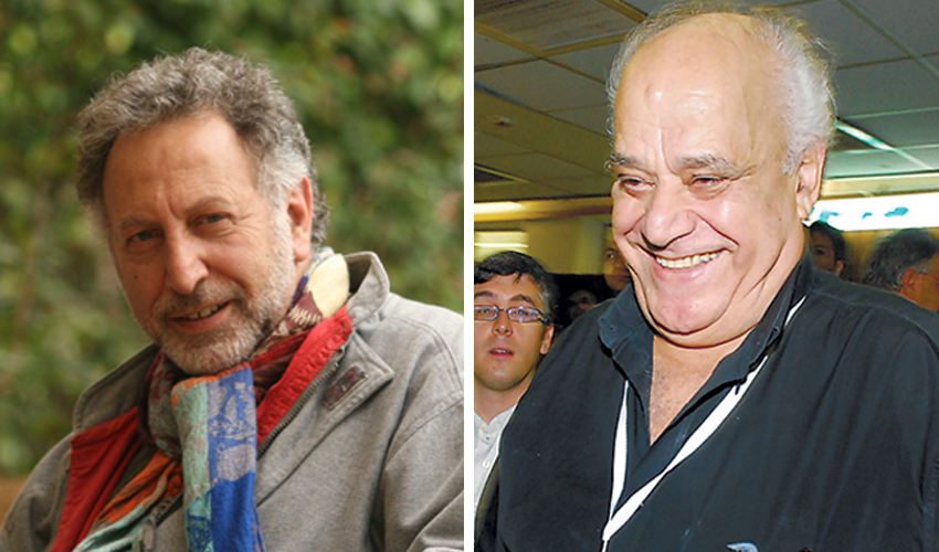 רמי דותן ומכרם חורי (צילומים: ירון צור לביא, דודו בכר)