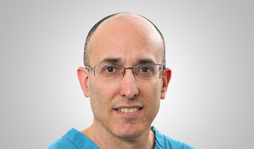 """ד""""ר אייל רז (צילום: דוברות הקריה הרפואית רמב""""ם)"""