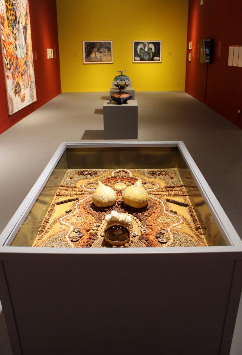 מיצג של האמנית מיכל בלייר מתוך אשכול התערוכות (צילום: מיכל בלייר)