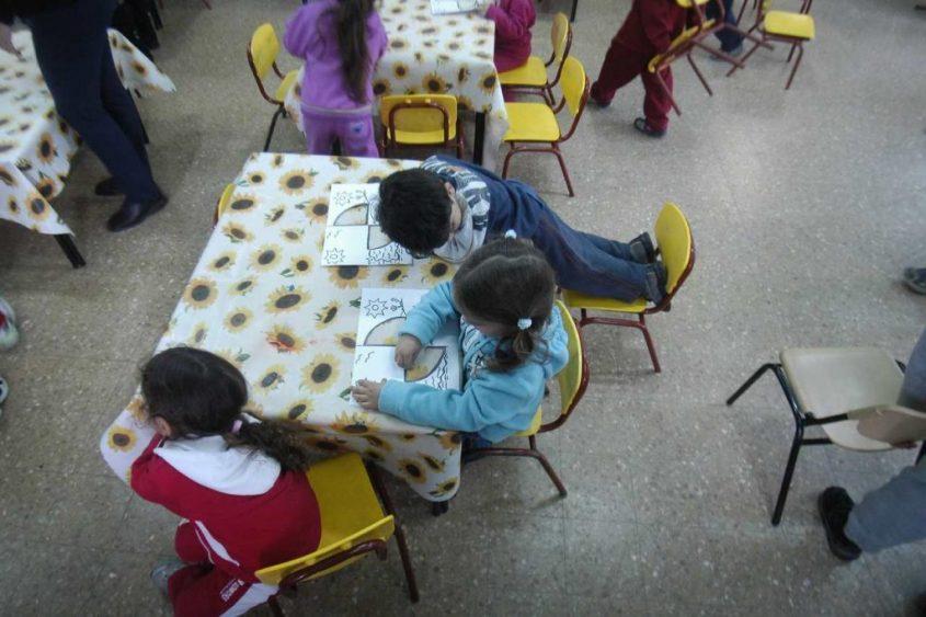 קייטנה בגן ילדים (צילום: תומר אפלבאום)