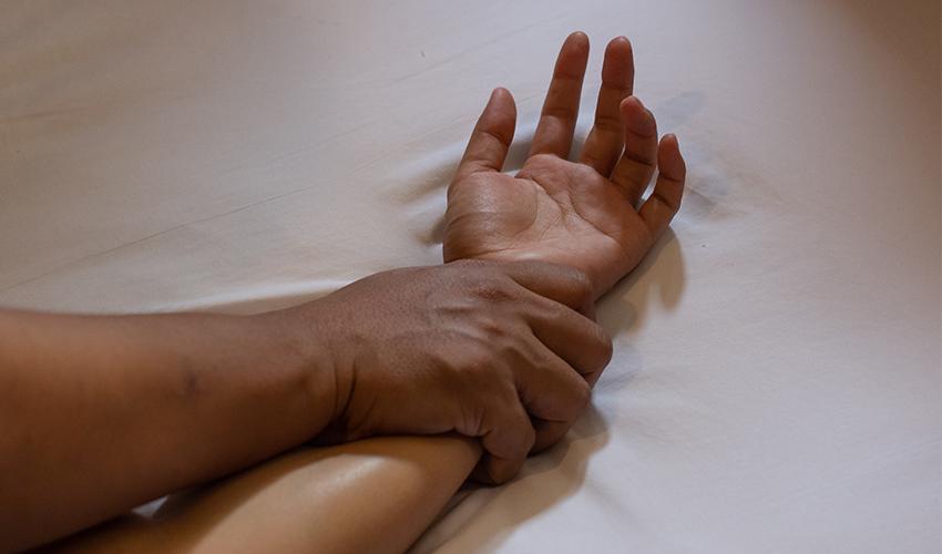 תקיפה מינית (צילום: א.ס.א.פ קריאייטיב/INGIMAGE)