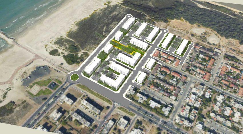 שכונת נוה חוף (הדמיה באדיבות עיריית קרית ים)