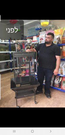 פרג סולימאן לפני הדיאטה שעשה עם הדיאטנית דועאא קטיש. צילום עצמי