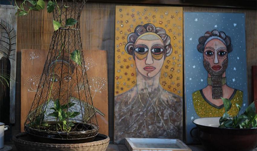 בית הגלריה (צילום מתוך דף הפייסבוק HOUSE Gallery hazmaut 92 Haifa)