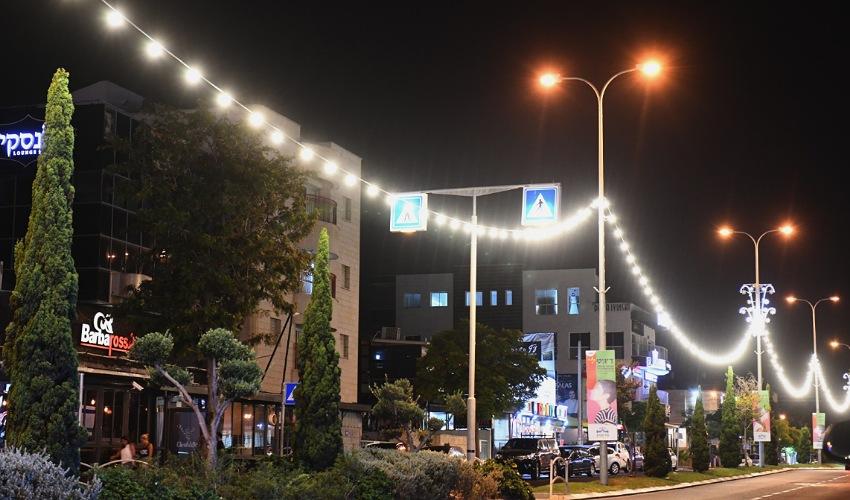 """רחוב אח""""י אילת (צילום: ניר בלזיצקי, דוברות עיריית חיפה)"""