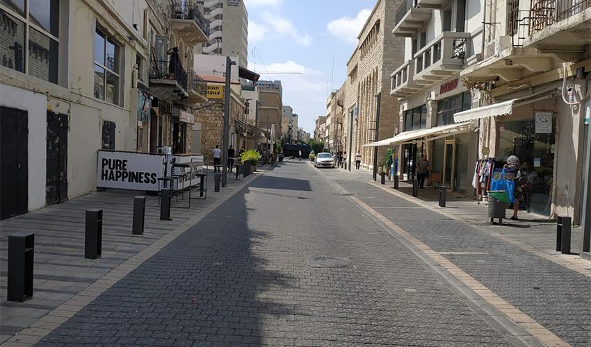 מדרחוב נתנזון (צילום: סופי בן ציון)