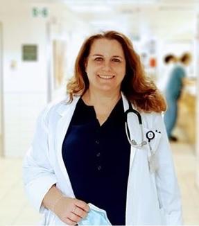 מנהלת מחלקה פנימית ג' במרכז הרפואי בני ציון דר שרון ג'ינו מור (צילום ניר קופלר)