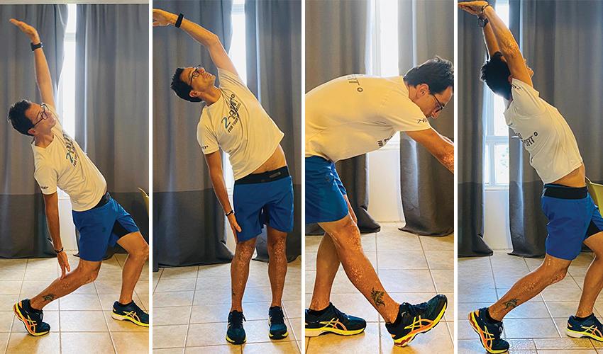 חימום ופעילות גופנית