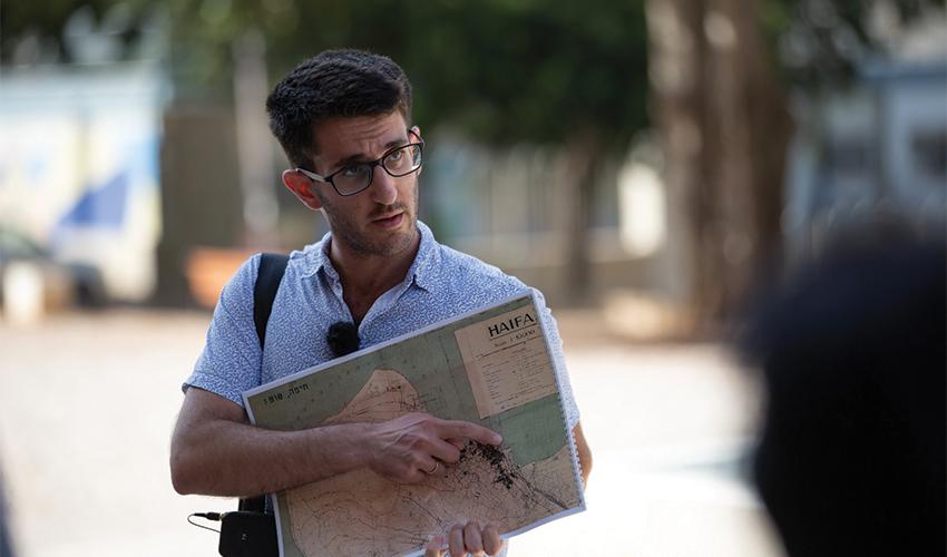 """עומרי זילכה. """"חיפה עדיין תקועה מאחור"""" (צילום: מאיר ארזי)"""