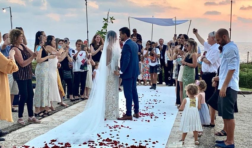 החתונה בפארק הכט (צילום: ראובן כהן, דוברות עיריית חיפה)