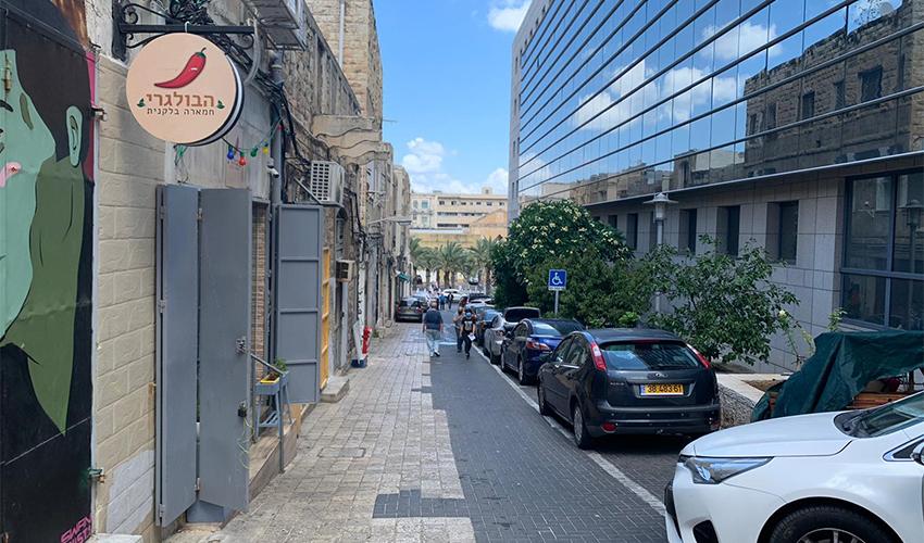 רחוב ח'טיב (צילום: חגית הורנשטיין)