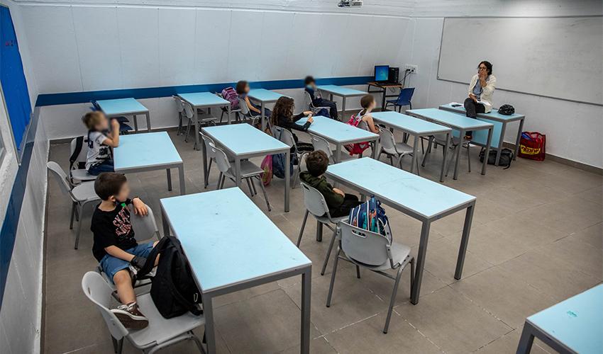 לימוד בקפסולה (צילום: אמיל סלמן)