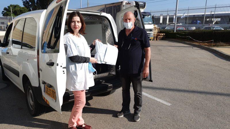 שירות תרופות עד הבית על ידי שליח. צילום: דוברות כללית