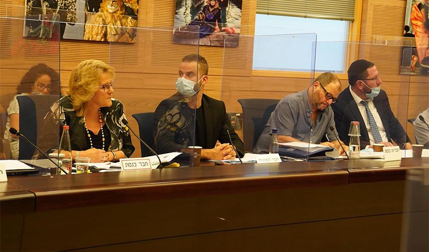 ישיבת ועדת החינוך של הכנסת (צילום: יהונתן סמייה)