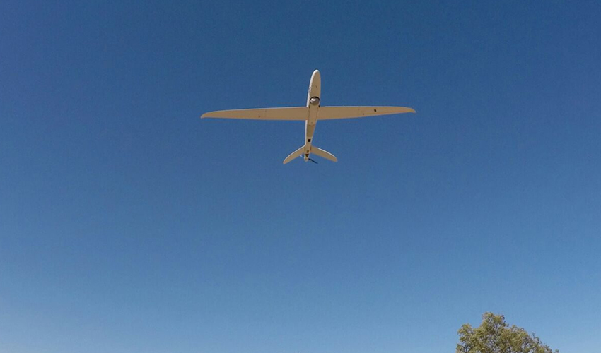 """כלי טיס בלתי מאויש (צילום: דובר צה""""ל)"""