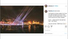 הפוסט של העירייה (צילום מתוך חשבון האינסטגרם של עיריית חיפה)