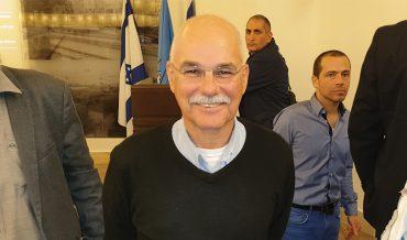 חבר בועדת הנחות בארנונה א' במקום בלס. נחשון צוק (צילום: בועז כהן)