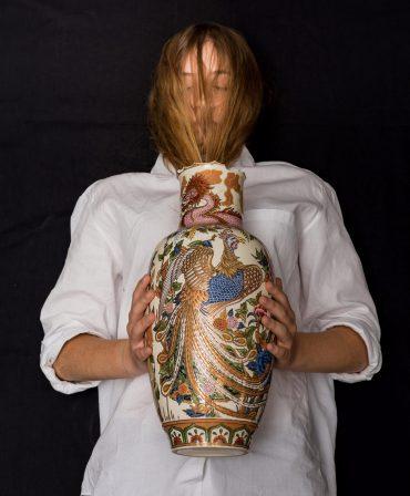 """אמנים: לילך בר עמי ודגנית ארטמן, מתוך התערוכה """"מרחבים במשבר"""". צילום: דגנית ארטמן"""
