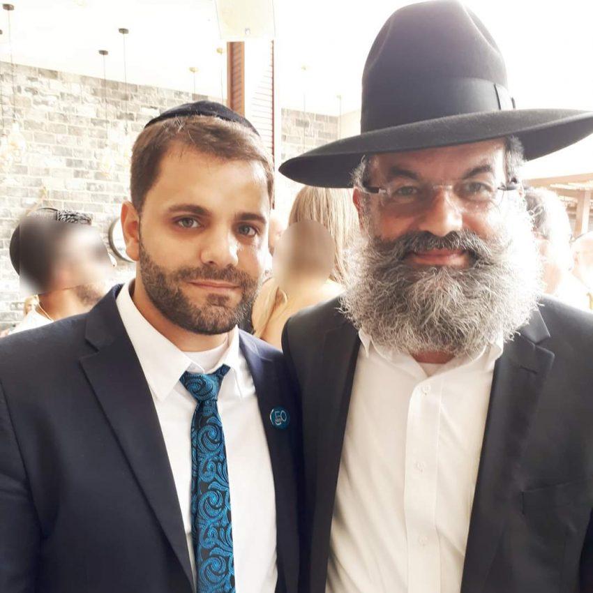רבי דוד אבוחצירא עם מאיר רפאל חי ביטון