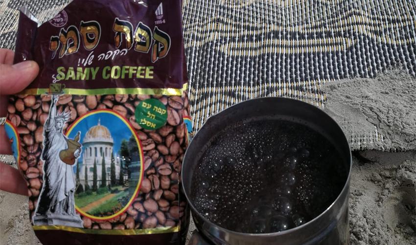 קפה סמי (צילום: איהב פייסל)