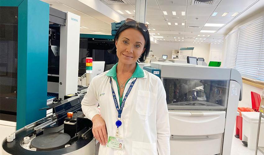 """ד""""ר יוליה שניידר (צילום: דוברות שירותי בריאות כללית)"""