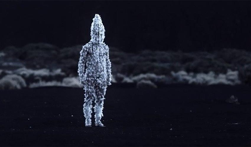 """the film """"White on white"""" (Photo: p""""צ)"""