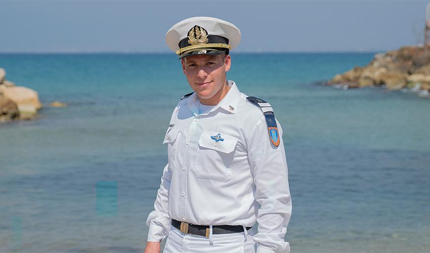 """סגן להב וייזר (צילום: דובר צה""""ל)"""