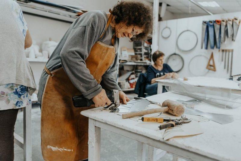 המכון לאמנות באורנים: פותחים שנה בלימודי חוץ. צילום: יניב ויידגורן