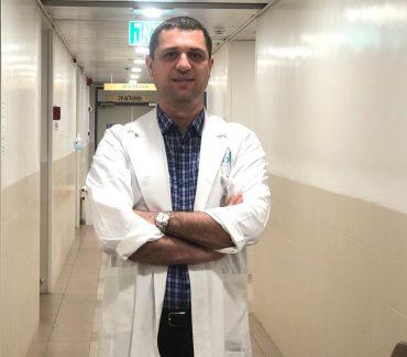 """ד""""ר סאיג לאונרד. צילום: באדיבות המרכז הרפואי בני ציון"""