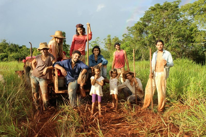 """הסרט """"לעזוב את גן עדן"""" (צילום: משפחת ברגה-בזרה, וילה ברולו)"""