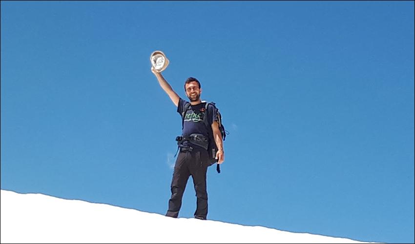 אמיר פתר בהרי הפירנאים