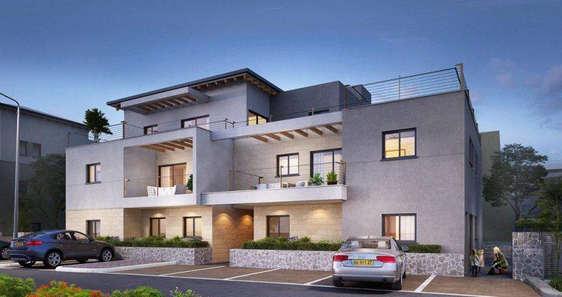 """חברת שתית זכתה במכרז לבניית 29 יחידות דיור בשכונת צל אורנים בטבעון. צילום: יח""""צ שתית"""