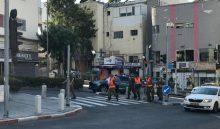 חיילי פיקוד העורף בחיפה (צילום: תדהר טויכר)