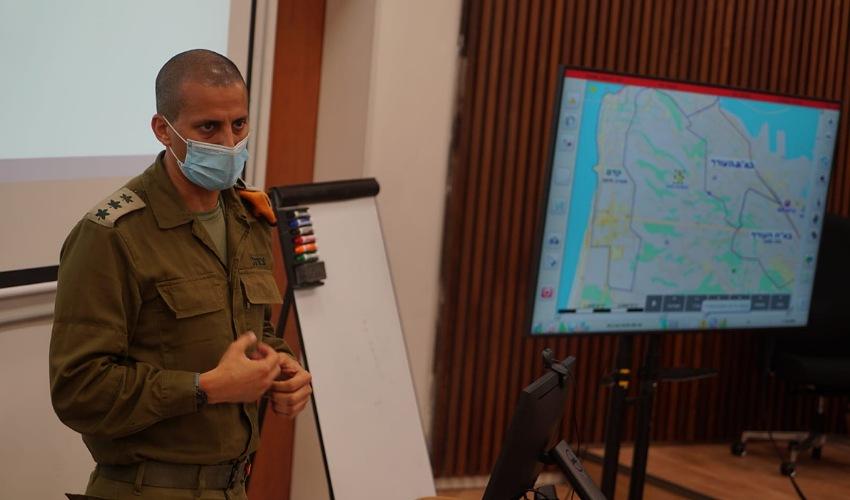 """אל""""מ אלעד אדרי (צילום: דובר צה""""ל)"""