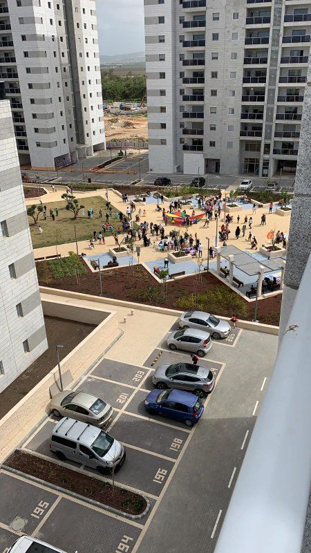 פעילות שכונתית באפקה, צילום: ועד השכונה