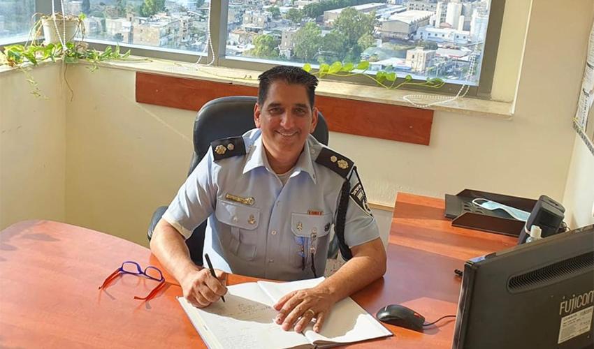 """סנ""""צ יגאל הבשור (צילום: דוברות משטרת ישראל)"""