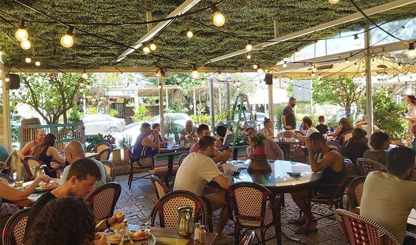 מסעדת שטרודל בימים אחרים (צילום מתוך דף הפייסבוק של שטרודל)