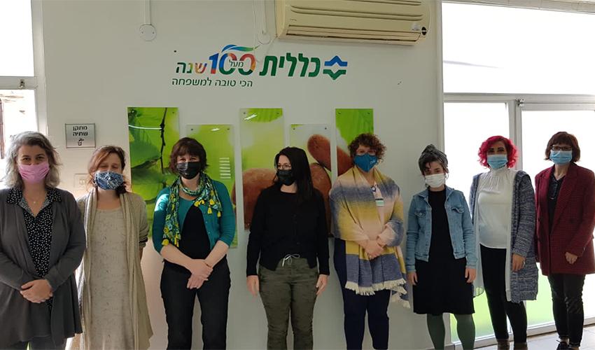צוות המרפאה לטיפול יום נפשי (צילום: דוברות שירותי בריאות כללית)
