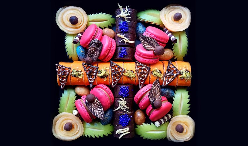 עיצוב פירות אמנותי של רונית זילברמן
