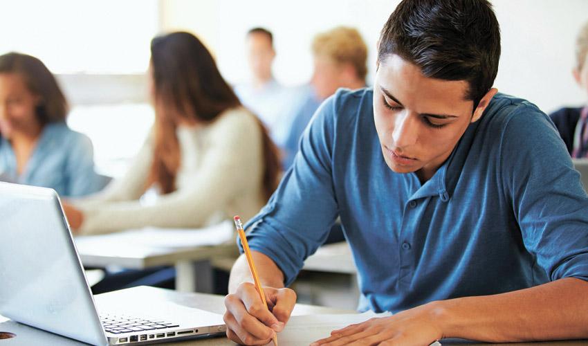 מבחן בבית ספר (צילום: א.ס.א.פ קריאייטיב/INGIMAGE)