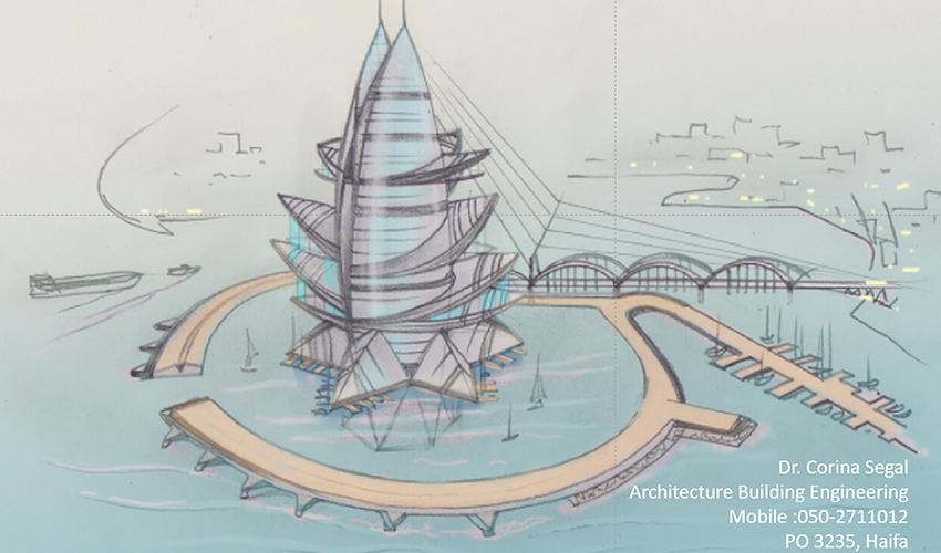"""תוכנית """"כוכב המפרץ"""" (הדמיה: סרג'יו דב רוזן)"""